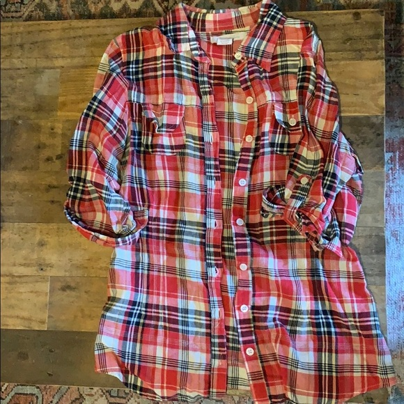 Charlotte Russe Tops - Charlotte Russe flannel